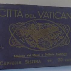 CITTA DEL VATICANO, EDIZIONE DEI MUSEI E GALLERIE PONTIFICIE, CAPELLA SISTINA 20 CARTOLINE - Harta Europei