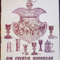 DIN CREATIA AURARILOR TRANSILVANENI SEC XV-XVIII, 1987 - Carte Istoria artei