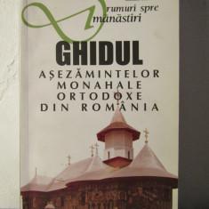 GHIDUL ASEZAMINTELOR MONAHALE ORTODOXE DIN ROMANIA-MIHAI VLASIE - Carti Istoria bisericii