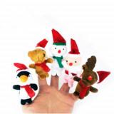 mascote degete jucarii craciun papusi degete personaje craciun jucarii logoped