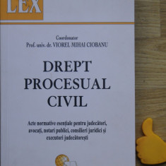 Drept procesual civil acte normative pentru judecatori avocati notari publici - Carte Drept procesual civil