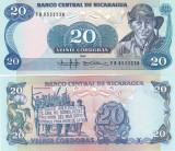 Nicaragua 20 Cordobas 1985 UNC