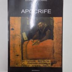 APOCRIFE . DESPRE EMIL BOTTA de DOINA URICARIU, 2001 - Carti Crestinism