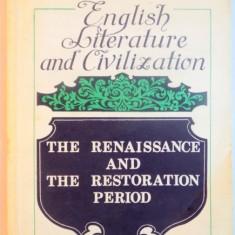 ENGLISH LITERATURE AND CIVILIZATION BUCURESTI 1983