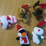 5 jucarii educative autism logoped marionete mascote craciun jucarii degete