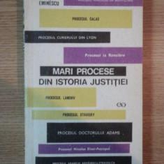 MARI PROCESE DIN ISTORIA JUSTITIEI de YOLANDA EMINESCU, 1970