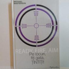 PE LOCURI FITI GATA TINTITI de MICHAEL MASTERSON, 2009 - Carte Marketing