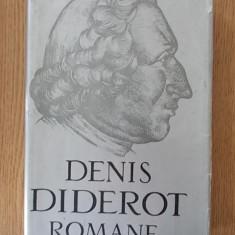 DENIS DIDEROT- ROMANE, cartonata/supracoperta - Carte Antologie