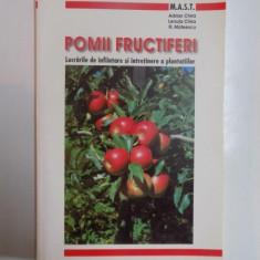 POMII FRUCTIFERI, LUCRARILE DE INFIINTARE SI INCREDERE A PLANTATIILOR de ADRIN CHIRA, LENUTA CHIRA, FL. MATEESCU, 2000 - Carte Biologie