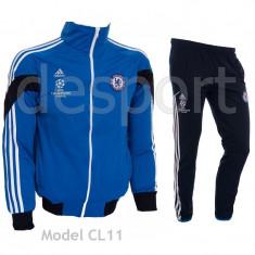 Trening Chelsea Londra - Bluza si pantaloni conici - Model NOU - 1044 - Trening barbati, Marime: S, M, L, XL, Culoare: Din imagine