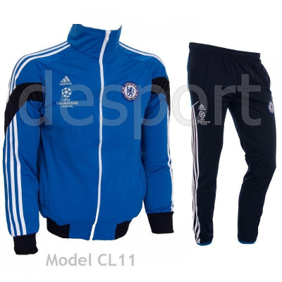 Trening Chelsea Londra - Bluza si pantaloni conici - Model NOU - 1044 foto