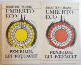 PENDULUL LUI FOUCAULT 2 VOL. UMBERTO ECO