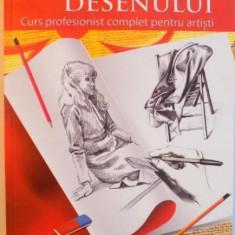 PRINCIPIILE FUNDAMENTALE ALE DESENULUI, CURS PROFESIONIST COMPLET PENTRU ARTISTI de BARRINGTON BARBER, 2015 - Carte Istoria artei
