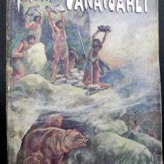ISTORIA VANATOAREI SI A DREPTULUI DE VANATOARE de GHEORGHE NEDICI, BUCURESTI, 1940, COPERTA ORIGINALA ILUSTRATA DE POITEVIN SKELETTI