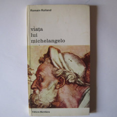 Viata lui Michelangelo, Romain Rolland, Meridiane, 1995
