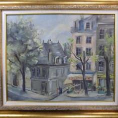 Siegfried, Peisaj parizian - Pictor roman