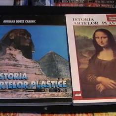 ISTORIA ARTELOR PLASTICE-ADRIANA BOTEZ CRAINIC-2 VOL- - Carte Istoria artei