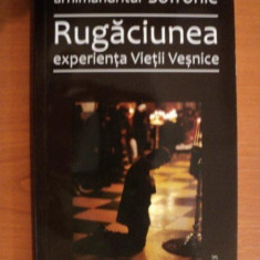 RUGACIUNEA EXPERIENTA VIETII VESNICE de ARH. SOFRONIE - Carti Crestinism