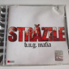 Rar! Cd Hip Hop B.U.G. Mafia-albumul Strazile 2005 - Muzica Hip Hop