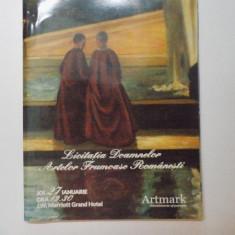 ARTMARK, LICITATIA DOAMNELOR ARTELOR FRUMOASE ROMANESTI, 27 IANURIE 2011 - Carte Istoria artei