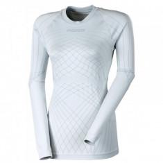 Tricou Seamless NDRZ Tricou femei - maneca lunga negru-rosu XL