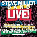 Steve Miller Band - Live -Spec/Digi/Remast- ( 1 CD )
