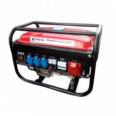 Generator Straus Austria 6500W – Pornire la buton TRIFAZIC - Generator curent