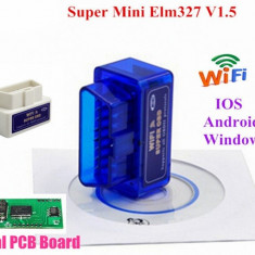 Diagnoza Auto Elm327 WIFI Mini Obd 2 compatibil iPhone