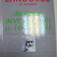 DICTIONAR INVENTATORI SI INVENTII de MICHEL RIVAL, 2001 - Carti Mecanica