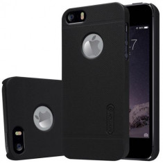 Husa spate Nillkin iPhone 5 Neagra - Husa Telefon Nillkin, Negru