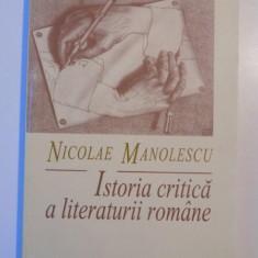 ISTORIA CRITICA A LITERATURII ROMANE de NICOLAE MANOLESCU, 1997