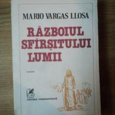 RAZBOIUL SFARSITULUI LUMII MARIO VARGAS LLOSA