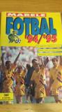 MRHAB CI - ALBUM STICKERE - FOTBAL - CAMPIONATUL NATIONAL - EDITIA 1994-1995