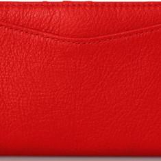 Fossil Caroline clutch portofel dama nou 100% original. Livrare rapida., Culoare: Rosu