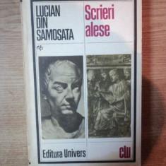 SCRIERI ALESE, ED. a II a de LUCIAN DIN SAMOSATA, Bucuresti 1983 - Carte in alte limbi straine