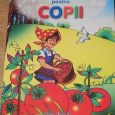 CARTE DE BUCATE PENTRU COPII de MARIA CRISTEA SOIMU, Bucuresti 2012 - Carte Retete traditionale romanesti