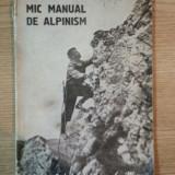 MIC MANUAL DE ALPINISM, 1950 - Carte Geografie