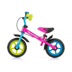 Bicicleta fara pedale Dragon Z Multicolor - Bicicleta copii