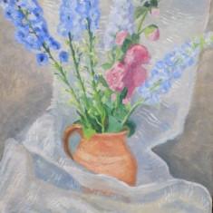 C. M. Cantacuzino, Vas cu flori - Pictor roman