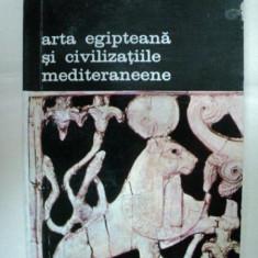 ARTA EGIPTEANA SI CIVILIZATIILE MEDITERANEENE-CONSTANTIN DANIEL-BUC.1980 - Carte Istoria artei