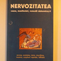 NERVOZITATEA CAUZE, MANIFESTARI, REMEDII DUHOVNICESTI de DIMITRI ALEKSANDROVICI AVDEEV, BUCURESTI 2003 - Carte Psihologie