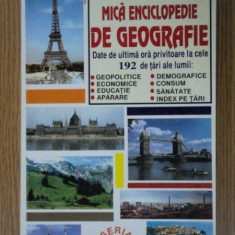 MICA ENCICLOPEDIE DE GEOGRAFIE - Carte Geografie