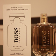 Parfum TESTER original Hugo Boss Boss The Scent EDP 100 ml - Parfum femeie