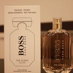 Parfum TESTER original Hugo Boss Boss The Scent EDP 100 ml - Parfum femeie Hugo Boss, Apa de toaleta