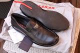 Pantofi PRADA barbati, 41, Negru