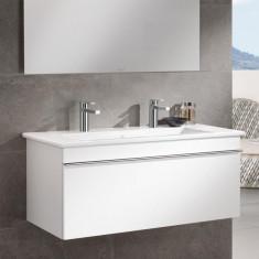 Villeroy & Boch, Venticello, mobilier suspendat, un sertar, 95 cm, alb lucios - Corp baie