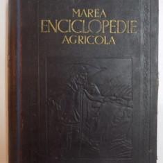 MAREA ENCICLOPEDIE AGRICOLA, VOL. V (PORU-Z) de C. FILIPESCU, 1943 - Carte sport