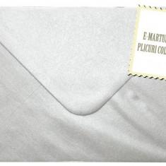 Plic/plicuri C6 colorate invitatii/felicitare. Plicuri argintii 114 x 162 mm (C6) EM114ARG