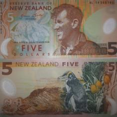 Noua Zeelanda 5 Dollars 2009 Polimer UNC