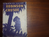 ROBINSON  CRUSOE  -  DANIEL  DEFOE   ( editia 1956, cu ilustratii )  *